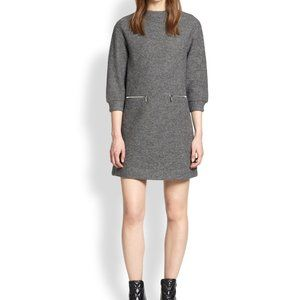 Marc Jacobs Charcoal Melange Sweater Dress